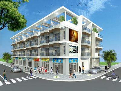 Uni Town: dự án nhà phố trung tâm Thành Phố Mới Bình Dương