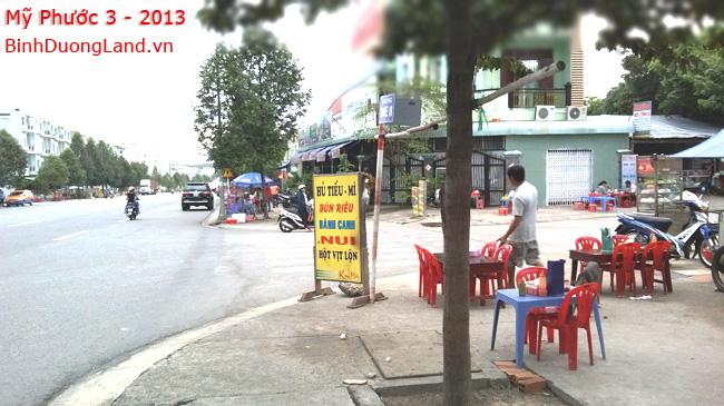 Bán Lô góc K2A mặt tiền đường NE8 cổng Mỹ Phước 3