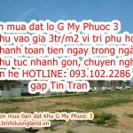 Can mua dat lo G My Phuoc 3